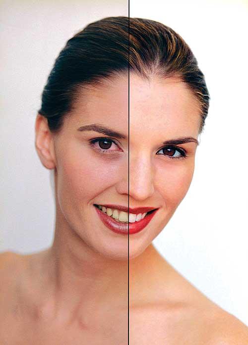 Фотошоп сделать себе макияж на