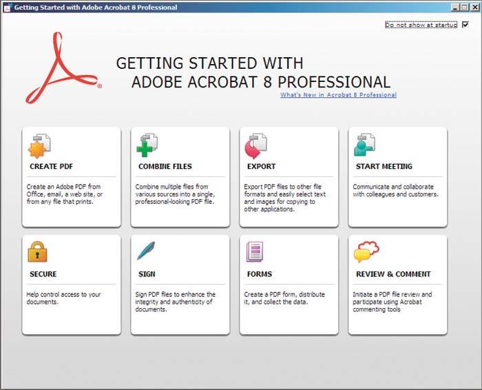 Adobe Acrobat Professional 8