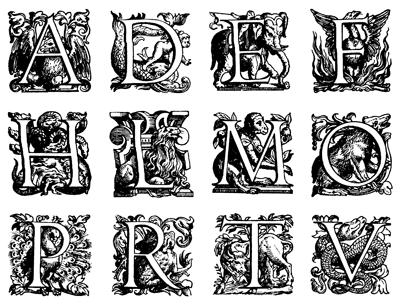 Шрифты английский граффити