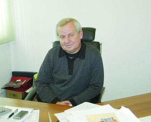 Генеральный директор типографии «Картон-Полиграф» Евгений Михайлович Апостол
