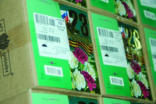 Заглянем в будущее: готовая упаковка открыток от женского коллектива типографии