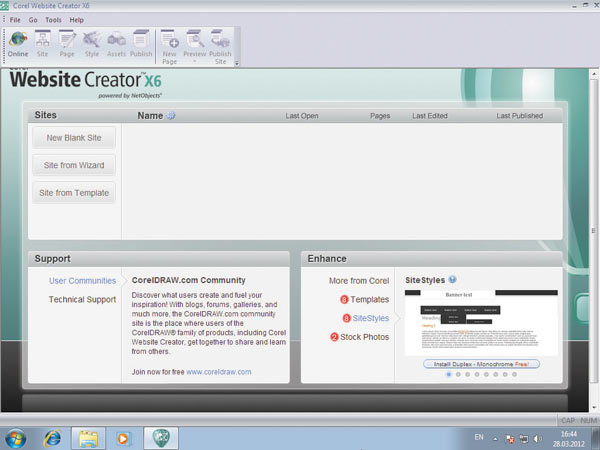 CorelDRAW Graphics Suite X6 16.0.0.707 + Руссификатор + Corel Website.