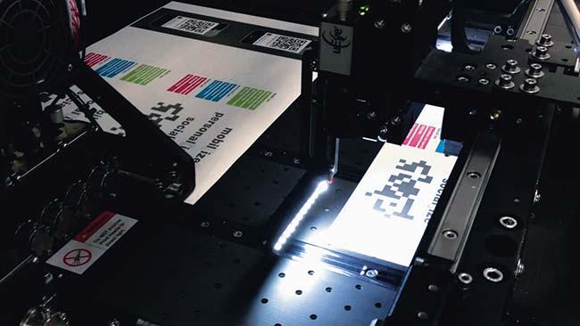 Рабочий узел лакировальной цифровой струйной машиныScodix