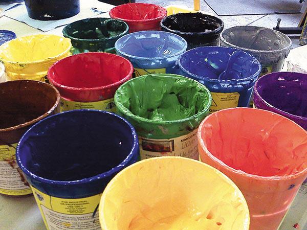 Пластизолевые краски для шелкографии