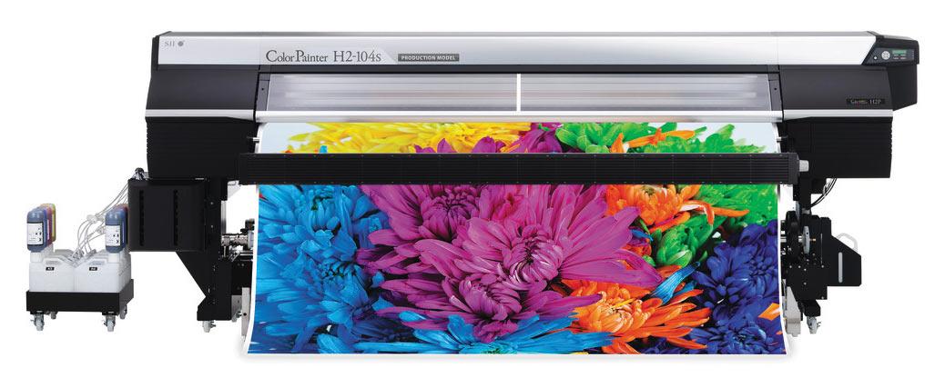Модель OKI ColorPainter H2P-104s