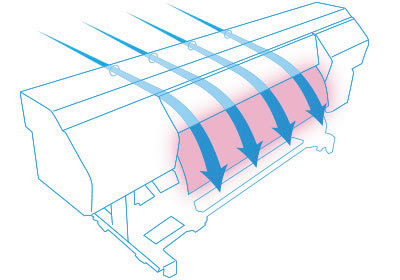 Схема циркуляции воздушного потока